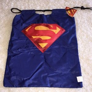 Other - Superman drawstring bag